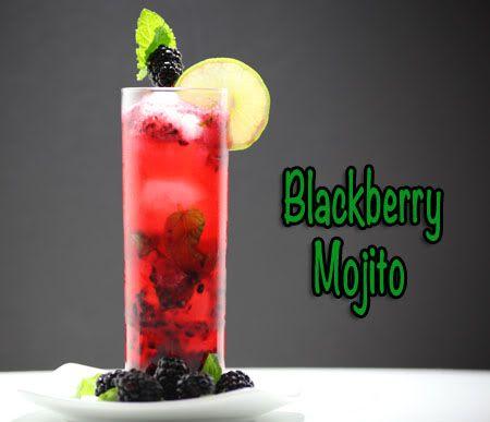 Blackberry Mojito, How to make a blackberry mojito