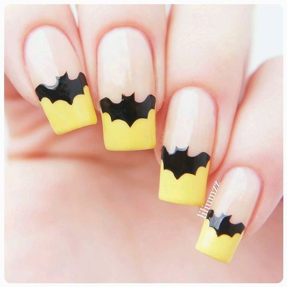 Batman nageldesign