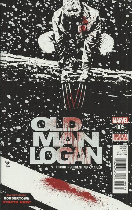 Marvel Old Man Logan comic issue 5
