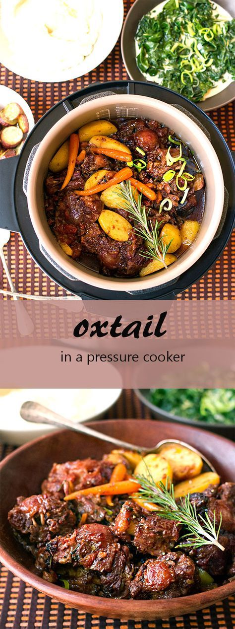 Oxtail in a Pressure Cooker