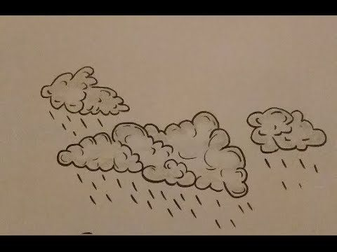 How To Draw Clouds Step By Step Cloud Drawing Drawings Draw