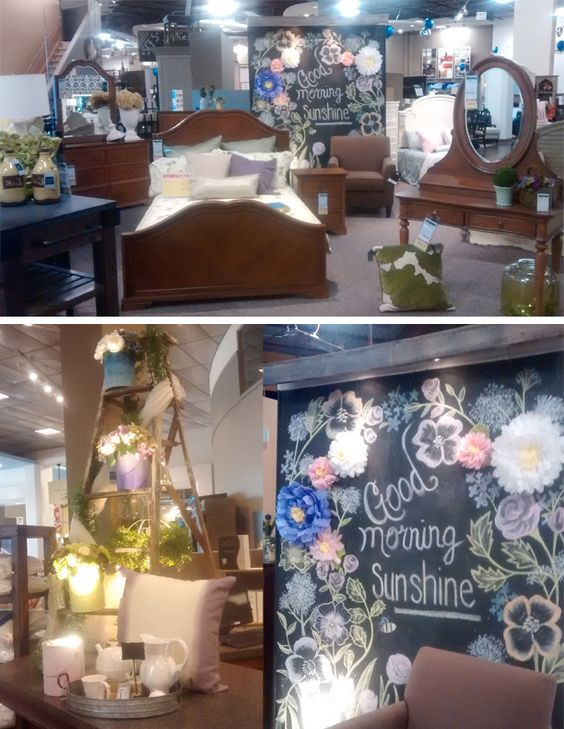 """Our team is getting our showroom """"spring ready""""!"""