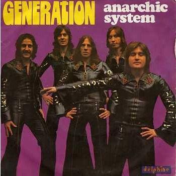 zoom Anarchic Sysrem - Génération - 45T (SP 2 titres)