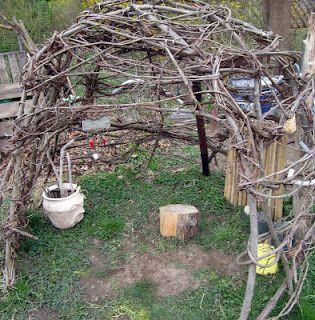 DIY Spring Fort
