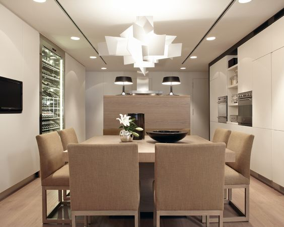 Molins Interiors // arquitectura interior - cocina - comedor ...