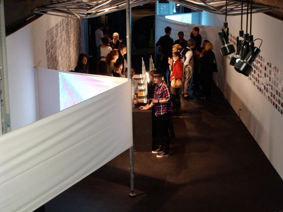 Projections Interactive Research Exhibit on Behance