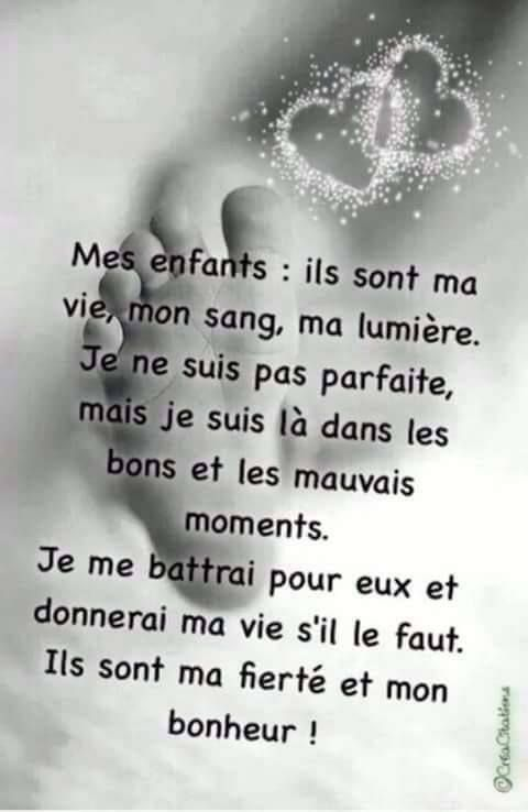 Mes Enfants Citations Sympa Phrase Citation Belles Citations