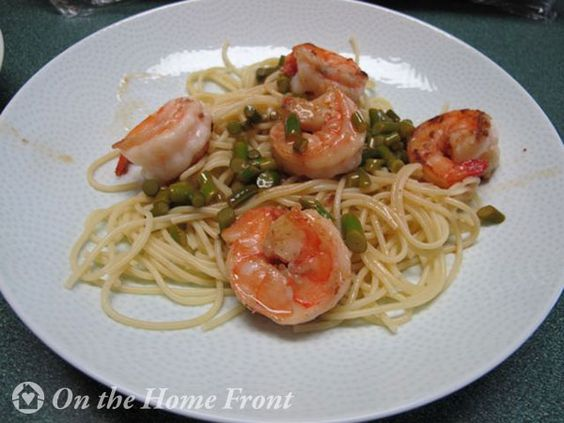 Garlic Scape Scampi via @Nancy @ On The Home Front | #GetHimFed ...