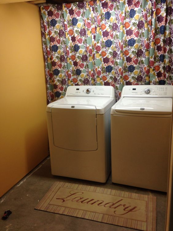 Hide Pipes Behind Washer Dryer Things To Do Pinterest