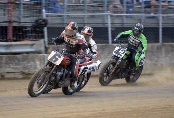 Brad Baker race action shot