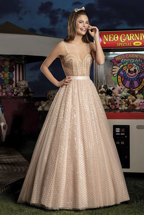 Pin Em Ball Gown Balo Kıyafetleri