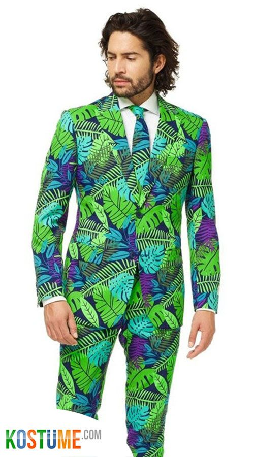 OppoSuits Juicy Jungle Anzug   Stylische männer, Anzug