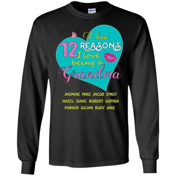 I love being a grandma!!   Mens black shirt, T shirt, Shirts