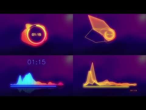 Free After Effects Template Music Visualizer L Audio Spectrum Youtube Music Visualization After Effects After Effects Templates