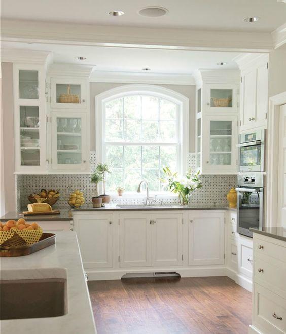 Kitchen Backsplash Tile: How High To Go