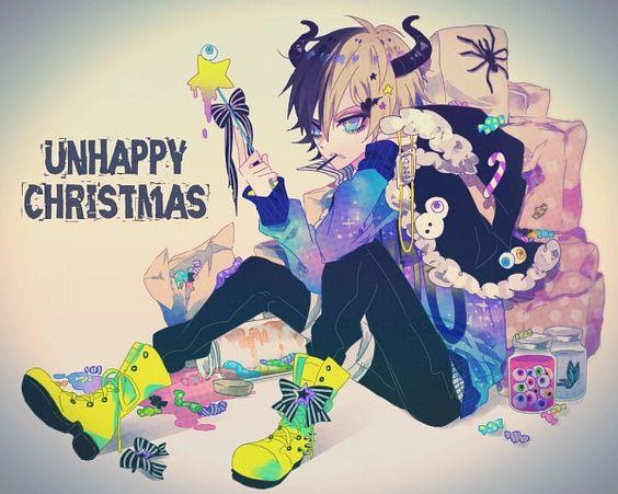 Ibuki Christmas Anime boy