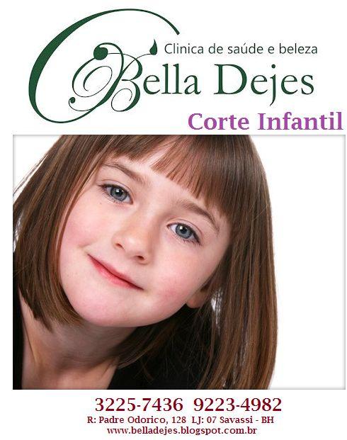 Bella Dejes Clínica de Saúde e Beleza: Corte Infantil masculino e feminino