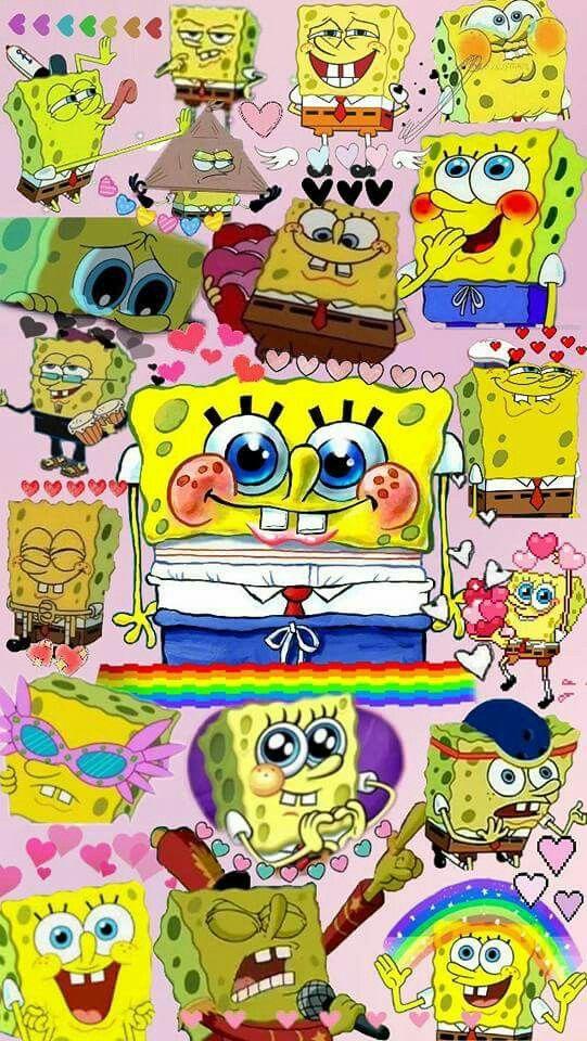 What Can I Say Its Cute Cartoon Wallpaper Iphone Spongebob