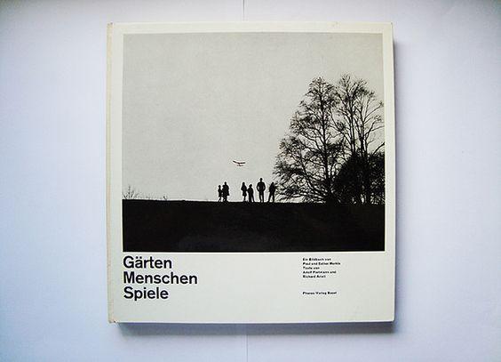 emil ruder. armin hofmann    design emil ruder and armin hofmann. gärten, menschen, spiele. pharos verlag basel. 1960. 25,5×26,5 cm