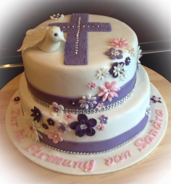 Torte firmung kommunion cake communion kommuniontorte for Pinterest kuchen