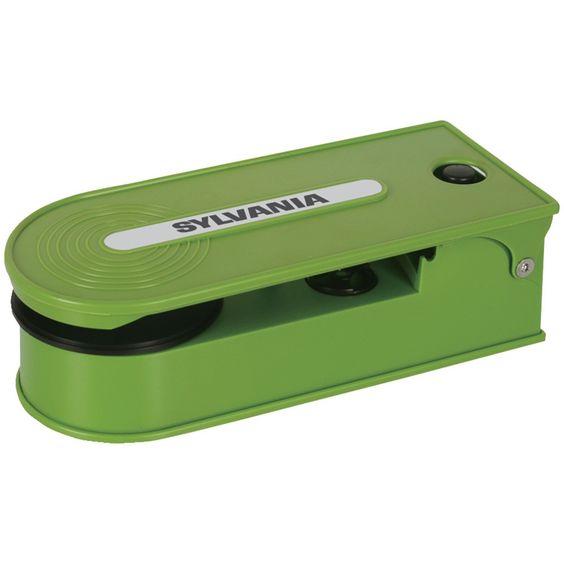 Sylvania Pc Encoding Usb Turntable (green)
