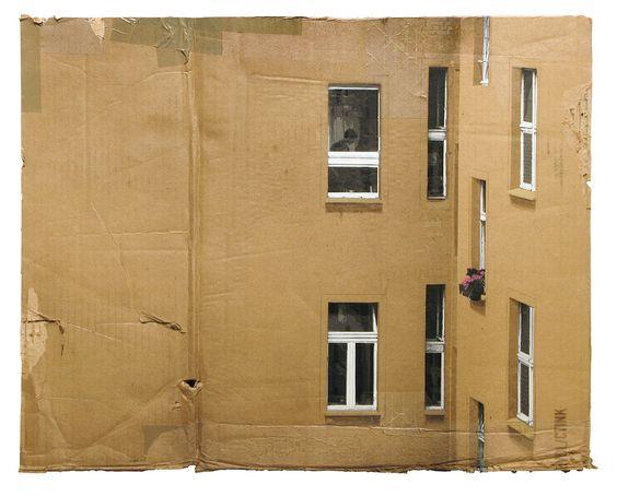 Evol German cardboard artist