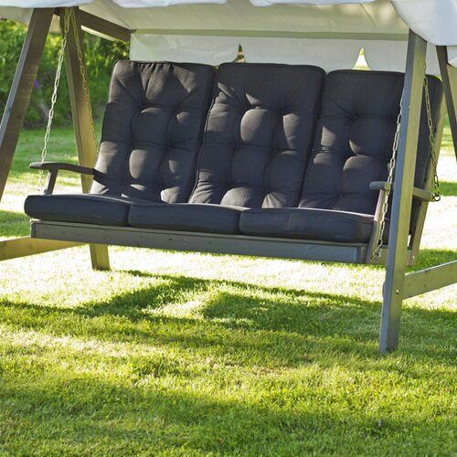 Loungesesselauflage Texas Home Loft Concept Stoff Grau Grosse