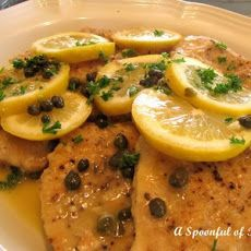 Mahi-mahi with Lemon-Caper Sauce Recipe