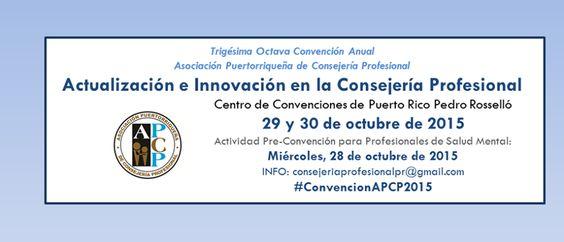 Convención Anual APCP 2015 #sondeaquipr #apcp #centroconvencionespr #miramar #sanjuan #convencionespr