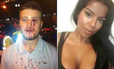 Ele & Elis Blog: Photo:Lady stabbed man in the eye with her Loubout...