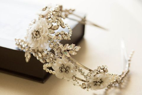 couture bridal headpieces - H36