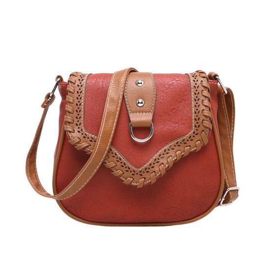 Retro Leather Crossbody Shoulder Bag