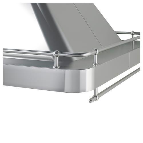 OMNEJD Takmonterad fläktkåpa, rostfritt stål IKEA | Ikea
