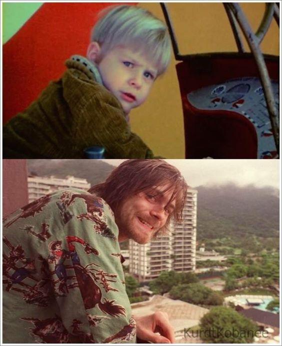 Nirvana : Photo kurt Cobain