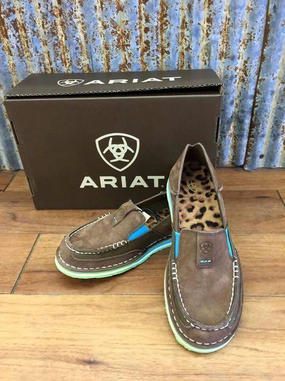 New ariat cruisers