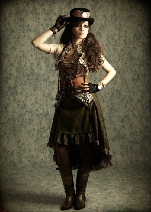 steampunk moda femenina