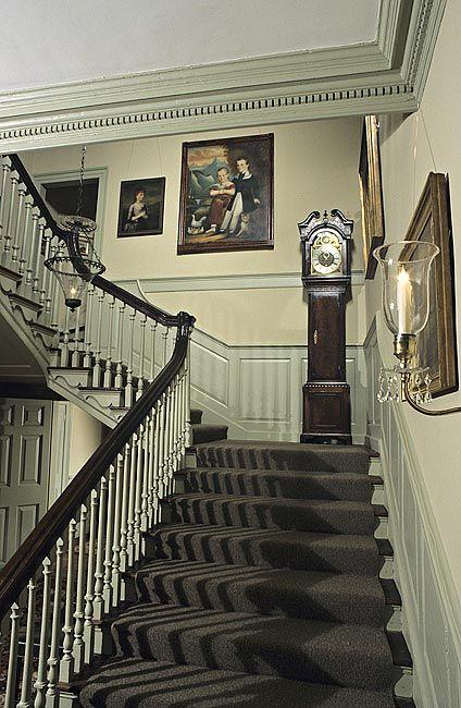 Bassett Hall Williamsburg Virginia 1753 1766 Interiors Pinterest Southern Style Belle