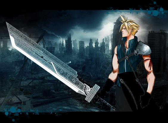 Cloud Strife FF7 Soldier