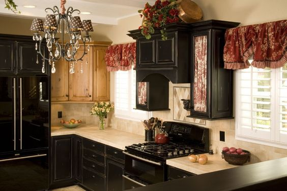 Pinterest the world s catalog of ideas for Black onyx kitchen cabinets
