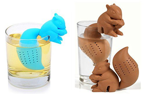 DoubleVillages® 2 Pack Silicone Cute Squirrel Tea infuser... http://www.amazon.com/dp/B019O2S5CY/ref=cm_sw_r_pi_dp_tsugxb1QKQNKF