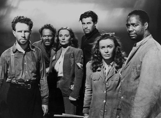 Lifeboat - Alfred Hitchcock - 1944.: