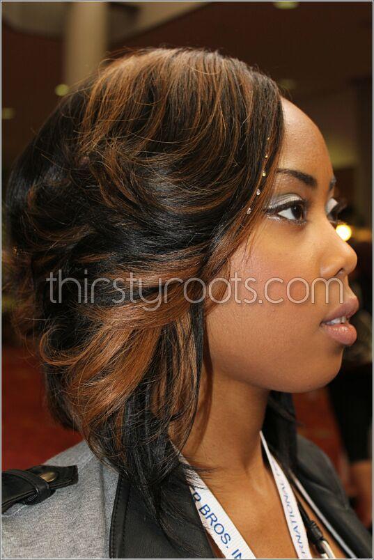 Outstanding Black Girl Weave Weave Hairstyles And Black Hairstyles On Pinterest Hairstyles For Women Draintrainus