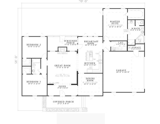 Bungalow country craftsman house plan 62148 house plans for 1900 bungalow house plans