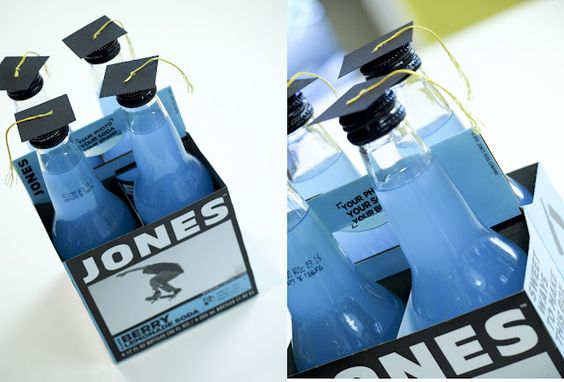 Oh, yes, I'm going to have to do this clever drink topper from The Letter 4; jazz up every drink bottle instantly!