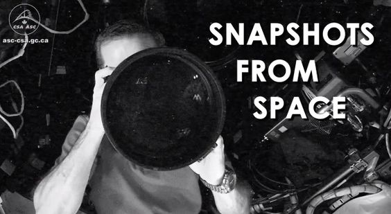 [Video] Fotos en la Estación Espacial Internacional.