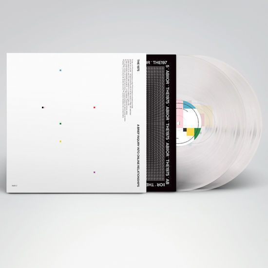 The 1975 A Brief Inquiry Into Online Relationships Vinyl Clear Online Relationship Vinyl Store Vinyl