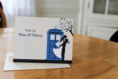 Doctor Who TARDIS Wedding Theme - DIY Custom Printable Cards by TiarrArts on Etsy https://www.etsy.com/listing/158100949/doctor-who-tardis-wedding-theme-diy