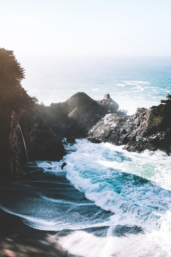 Road trippin' up the 1 to Big Sur, CA.