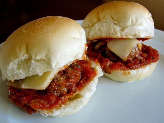 Mini Meatball Sandwiches by Food and Whine