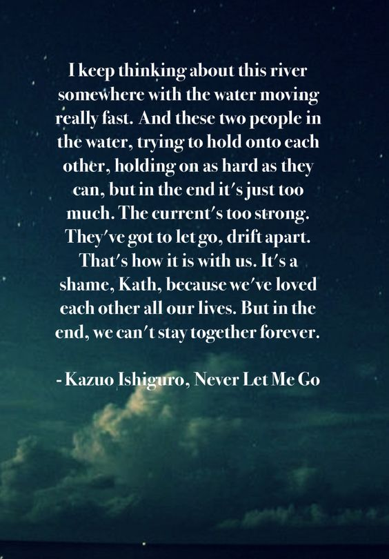 never let me go by kazuo ishiguro His characters may not be asian, but the book is an incisive commentary on  nonwhite experience.